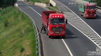 44秒 危险!德商高速上,大货车驾驶员突然下车洗了个头...