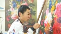 67秒丨励志!32岁脑瘫小伙当上画师:靠双手实现梦想 感觉挺好