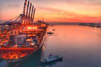 山东港口青岛港:4月份全国前十大港口唯一货物、集装箱吞吐量双增长