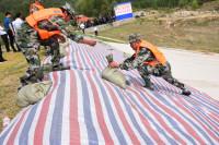 牵头组织150人防汛抢险应急突击队!曲阜市举办防汛演练活动
