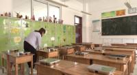 """29秒丨日照一小学空闲教室改""""餐厅""""  确保小学生分区域午餐"""