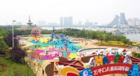 日照万平口儿童运动乐园5月30日起免费运营 设置容纳人数上限可线上预约