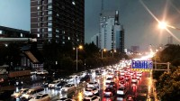 """39秒丨""""一秒""""入夜!延时摄影看今日泉城济南风雨过境"""