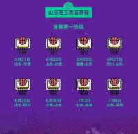 山东西王男篮复赛第一阶段赛程来了!同组对手大多为全华班