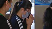 51秒 青岛因救轻生女子被砸施救者女儿:给过爸爸帮助的都存在手机里,记在我心里