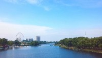 """这就是山东丨一河风景、两岸秀色 临沂莒南鸡龙河变身城市""""会客厅"""""""