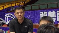 """山东男篮将迎来最后一次""""练兵""""巩晓彬:球队首要目标打进季后赛"""