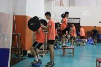 山东青年男排:厉兵秣马练体能 剑指全运会金牌