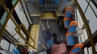"""37秒丨路遇遭电击昏迷小伙 淄博公交变""""救护车""""9分钟赶到医院"""