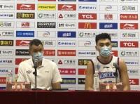 天津男篮主帅刘铁:能咬住比分属实不易 满意队员们的表现