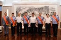 范华平会见山东省荣获全国禁毒工作先进集体和先进个人代表