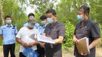 济南:合同到期拒不退还土地 法院强制伐木2500多棵