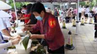 33秒 传承传统文化,增进邻里感情!枣庄滕州包粽子比赛来看下