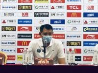 巩晓彬:摆正心态最重要  年轻球员很好的完成了任务