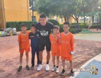 32秒丨U16国少潍坊集训 助教韩鹏重返鲁能足校
