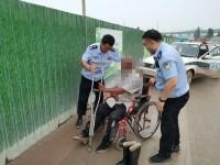 济南:出警回程路上遇迷路老人 民警通过朋友圈帮他找到家人