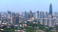 60秒|延时摄影带你看雨后湛蓝清澈的济南城
