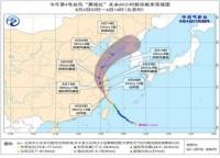"""海丽气象吧丨""""黑格比""""进入黄海减弱为热带风暴 山东半岛东部局部暴雨"""