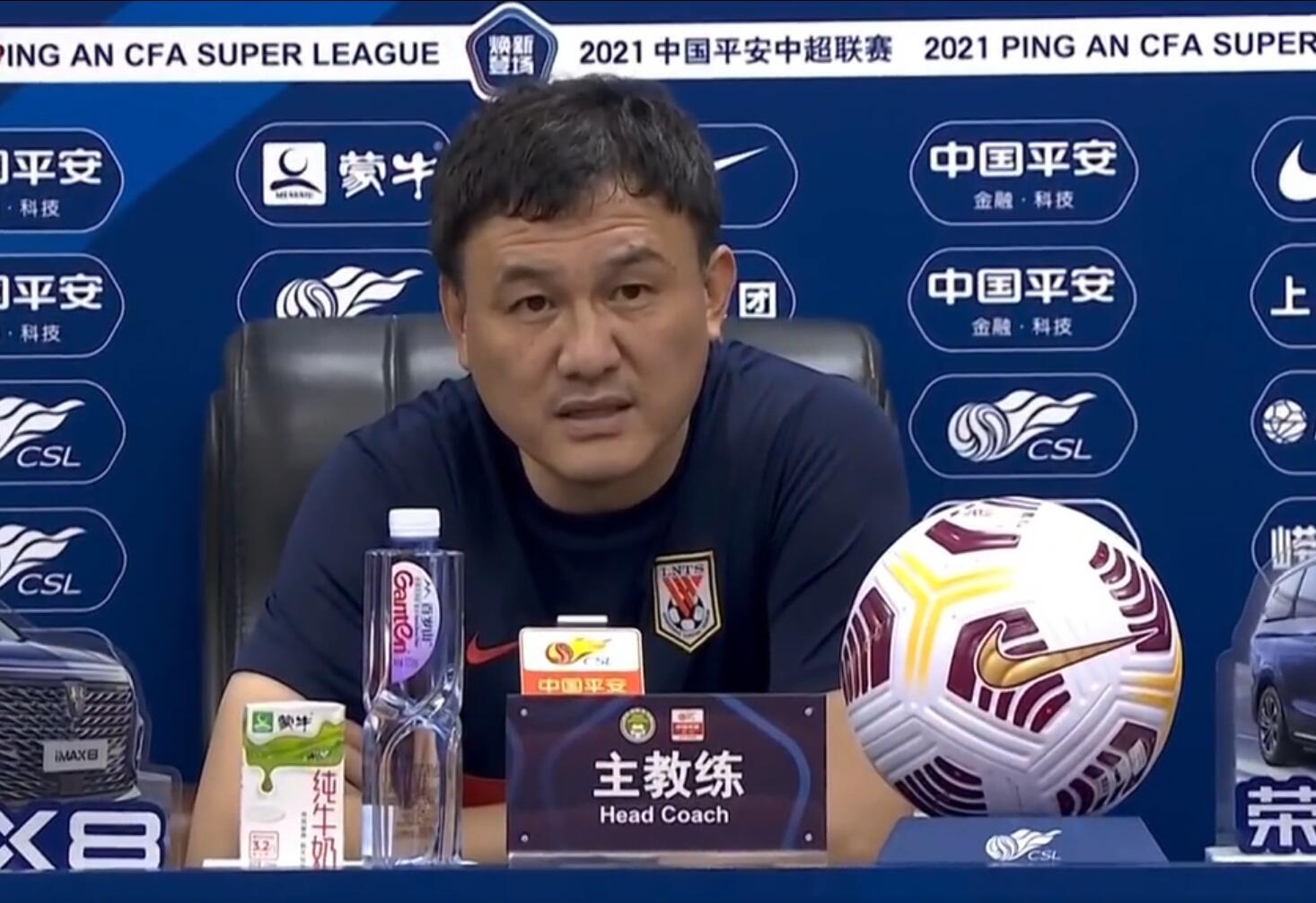 郝伟:没有保住3分比较遗憾 主力缺阵对比赛有影响