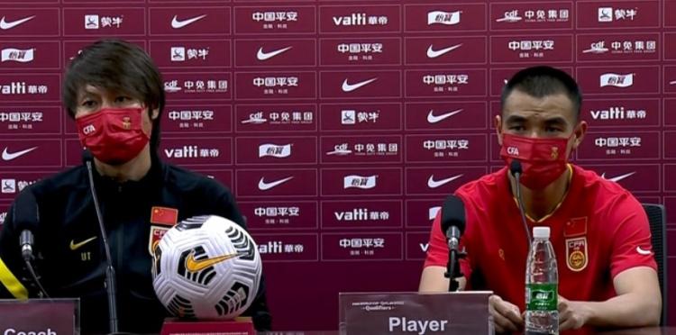 刘彬彬:天气因素对于双方球员都是一样的,比拼的还是意志力