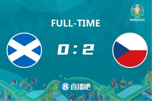 欧洲杯:???5米超远吊射神仙球 捷克2-0苏格兰