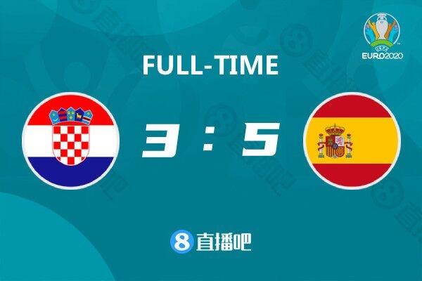 欧洲杯-帕萨利奇绝平莫拉塔破门 西班牙加时5-3胜克罗地亚进8强