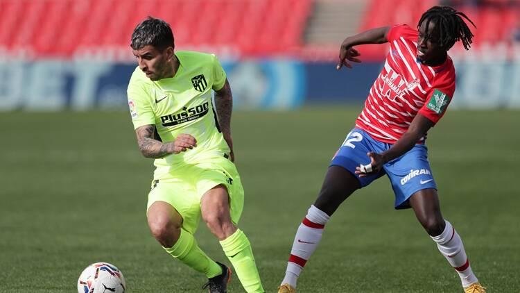 西甲:马竞2-1客胜格拉纳达十轮不败