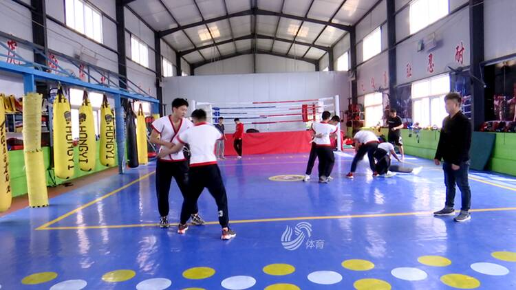 """備戰十四運 """"山東新城""""中國式摔跤代表隊成立"""