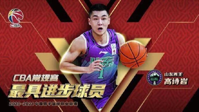 CBA官方:吳前當選本賽季常規賽MVP 高詩巖為本賽季最具進步球員
