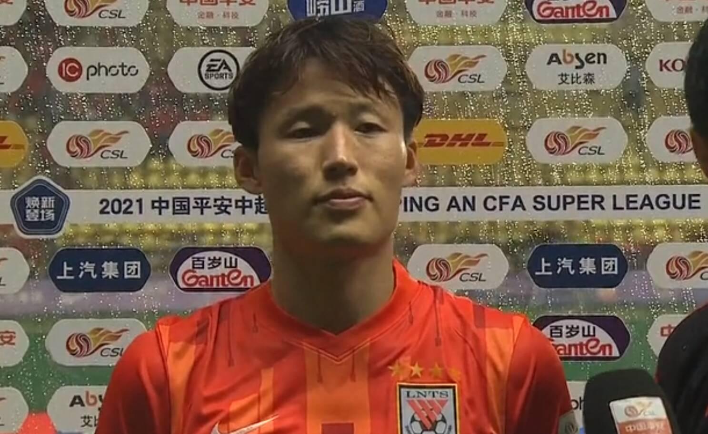 孙准浩:打进联赛首球很高兴 来到中国发现中超不好踢