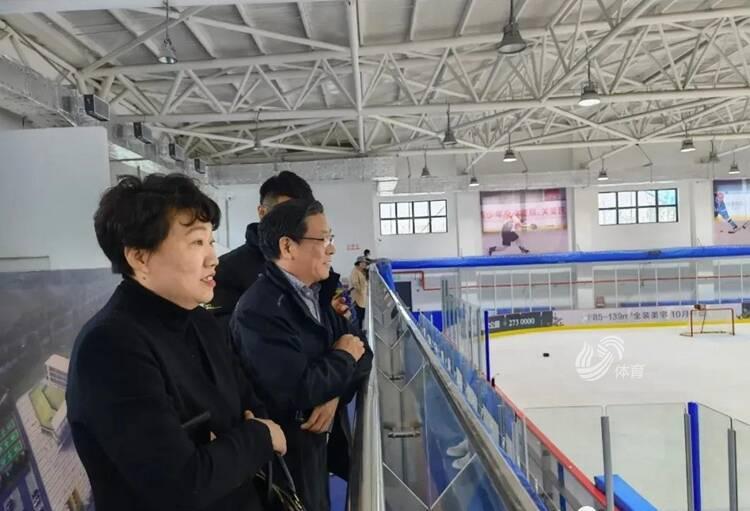 省體育局局長李政調研煙臺市體育工作