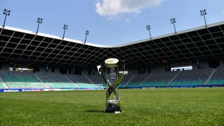 奖杯抵达球场 2021欧青赛决赛一触即发
