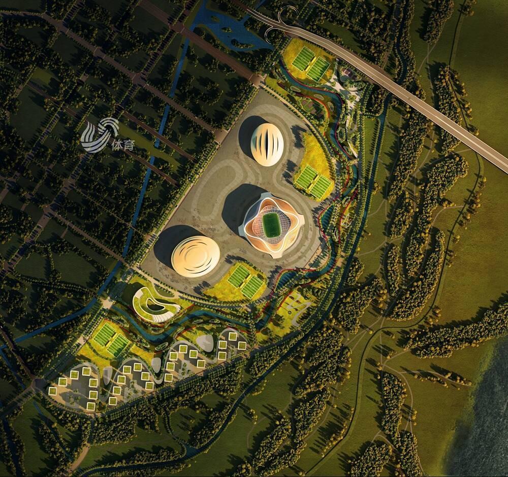 独家视频丨黄河体育中心项目进度如何?项目旁新道路明年贯通