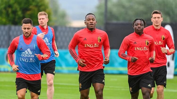 2020欧洲杯1/8决赛前瞻:比利时训练备战