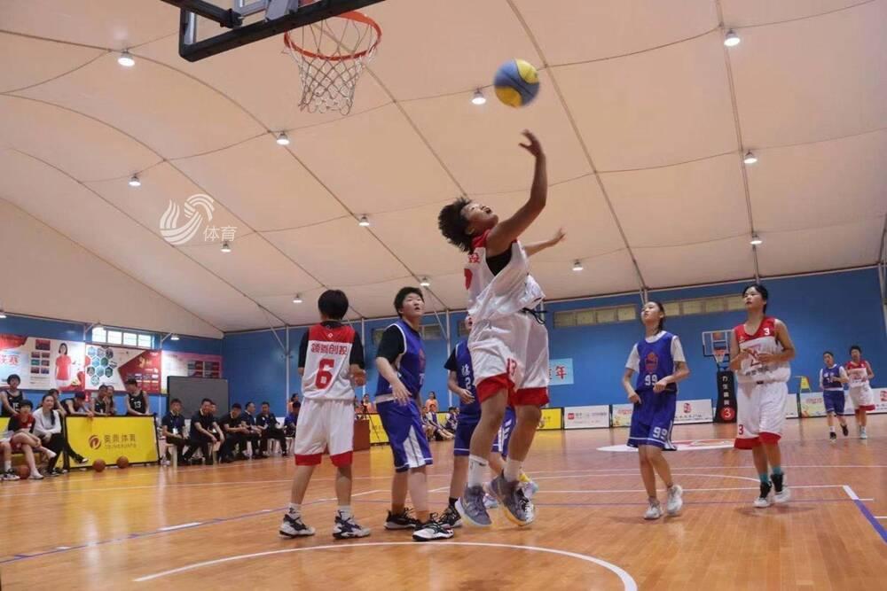 小籃球大夢想!2021山東省小籃球聯賽省級決賽在省體開打