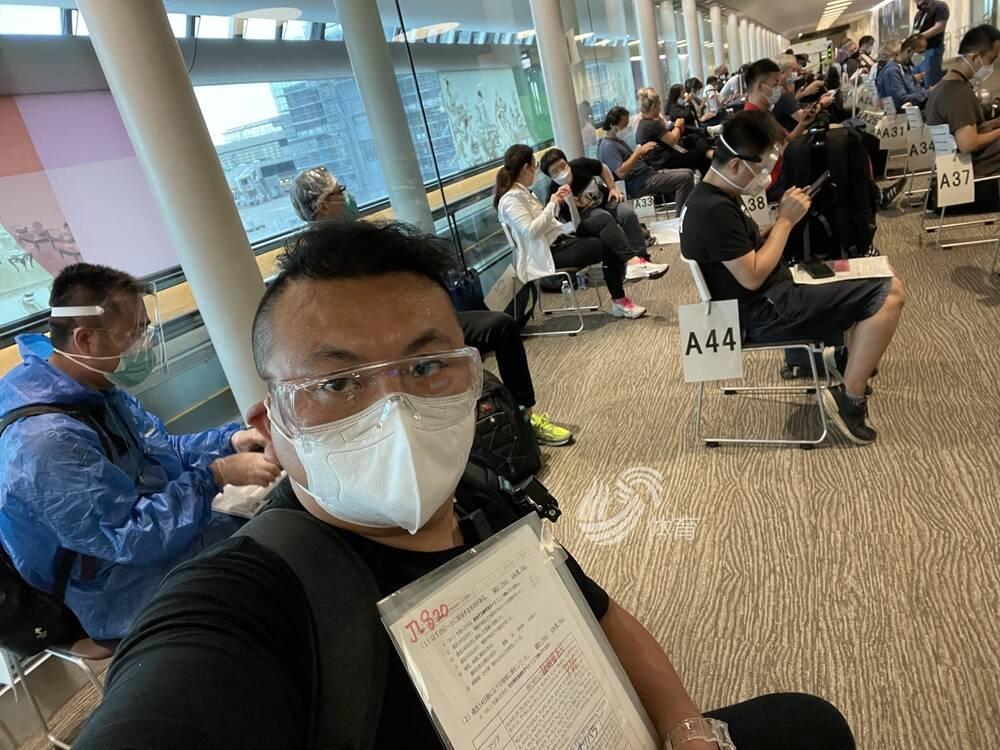 一切顺利!山东电视体育频道特派记者田源顺利抵达东京