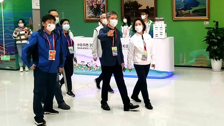 国家体育总局副局长杨宁点赞中国运动员