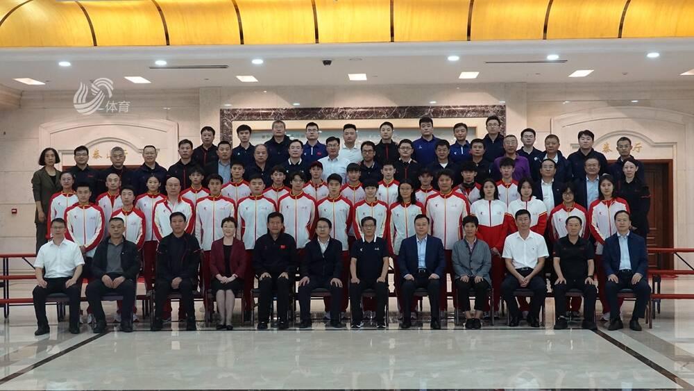 載譽歸來!第十四屆全運會山東省代表團凱旋