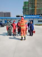 薛家滩村举办消防演习活动